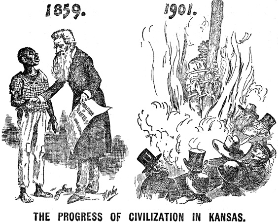 The Progress of Civilization, c. 1897.