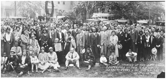 NAACP at Harpers Ferry, 1932.