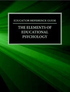 The Elements of Educational Psychology, ed. , v.