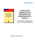 Ejercicios resueltos de matemáticas empresariales, v. 2