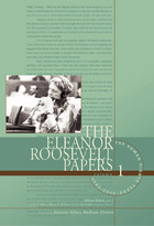 The Eleanor Roosevelt Papers, ed. , v. 1