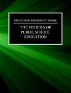 The Policies of Public School Education, ed. , v.