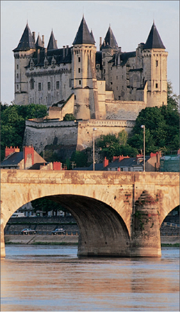 The Chteau de Saumur, one of the many fairy-tale castles of the Loire Valley