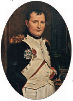 Napoleon, the brilliant general who rose to be Emperor of France