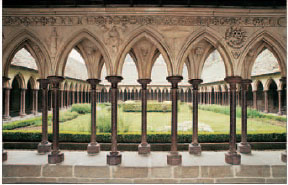 Cloisters - With their elegant English