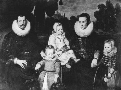A wealthy Elizabethan family.