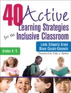 40 Active Learning Strategies for the Inclusive Classroom, Grades K-5