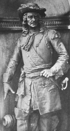 Louis de Buade, comte de Frontenac. Courtesy of the Library of Congress.