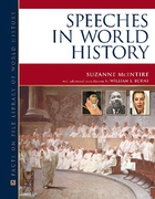Speeches in World History, ed. , v.