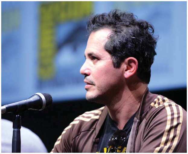 Columbian American actor John Leguizamo (1964–) immigrated at age four with his family to the United States.