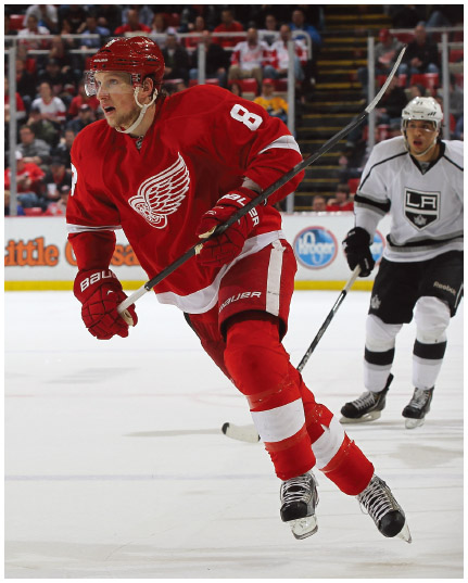 Justin Abdelkader, #8 of the Detroit Red Wings, is Jordanian on his paternal side.