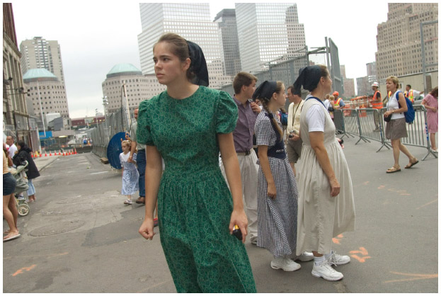 Shortly after the September 11, 2001 terrorist attack, a group of Mennonites visit Ground Zero at the former site of the World Trade Center.