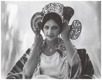 Spanish American Isabel Arevalo, 1933.