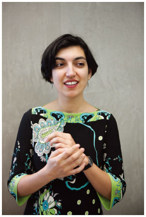 Turkish American writer Elif Batuman at the Melbourne Writers Festival in Australia.