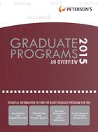 Peterson's Graduate & Professional Programs, ed. 49, v.
