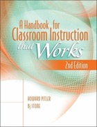 A Handbook for Classroom Instruction that Works, ed. 2, v.