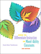 How to Differentiate Instruction in Mixed-Ability Classrooms, ed. 2, v.