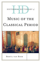 Historical Dictionary of Music of the Classical Period, ed. , v.