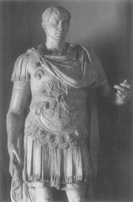 Statue of Julius Caesar, conqueror of Gaul and victor in the Roman civil war, first century