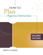 How to Plan Rigorous Instruction, ed. , v.