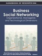 Handbook of Research on Business Social Networking, ed. , v.