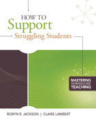 How to Support Struggling Students, ed. , v.