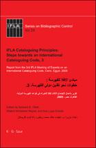 IFLA Cataloguing Principles: Steps towards an International Cataloguing Code, 3, ed. , v.