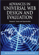 Advances in Universal Web Design and Evaluation: Research, Trends and Opportunities, ed. , v.