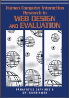 Human Computer Interaction Research in Web Design and Evaluation, ed. , v.