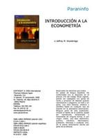 Introducción a la econometría, ed. 2