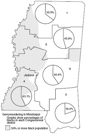 Figure 5 DeLay Texas redistricting.
