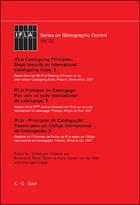 IFLA Cataloguing Principles: Steps towards an International Cataloguing Code, 5, ed. , v.