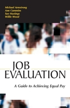 Job Evaluation: A Guide to Achieving Equal Pay, ed. , v.