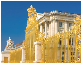 Versailles was the seat of French nobility until the fall of Louis XVI and his wife, Marie Antoinette.