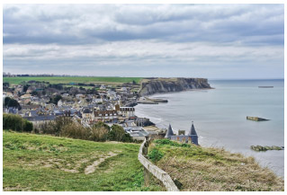 One of the sites of the World War II Allied landings on D-Day, 1944.