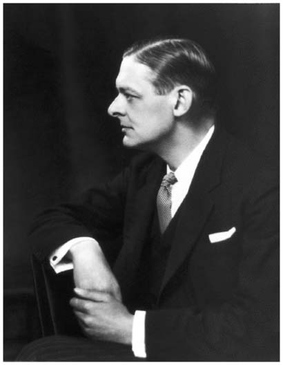 """Expatriate American poet T.S. Eliot, a leading figure of the modernist movement in literature, was awarded the Nobel Prize in Literature in 1948. His best-known work of the 1920s is the fragmented and allusion-rich epic poem """"The Waste"""