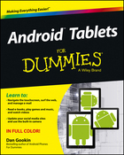 Android™ Tablets For Dummies®, ed. , v.