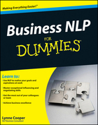 Business NLP For Dummies®, ed. , v.