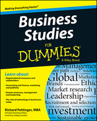 Business Studies For Dummies®, ed. , v.