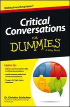 Critical Conversations For Dummies®, ed. , v.