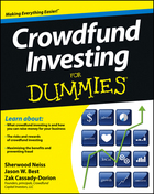 Crowdfund Investing For Dummies®, ed. , v.