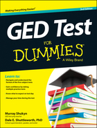 GED® Test For Dummies®, ed. 3