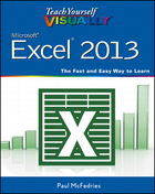 Teach Yourself VISUALLY™ Excel® 2013, ed. , v.