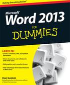 Word 2013 For Dummies®, ed. , v.