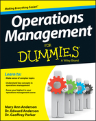Operations Management For Dummies®, ed. , v.