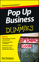 Pop Up Business For Dummies®, ed. , v.