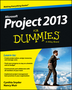 Project 2013 For Dummies®, ed. , v.