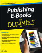 Publishing E-Books For Dummies®