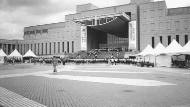 Korean War Museum, Seoul. The museum, traces the history of war from the Three Kingdoms Period to the Korean War.