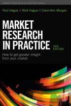 Market Research in Practice, ed. 2, v.